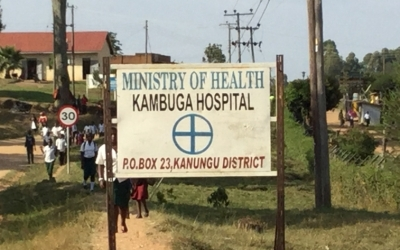 Visiting Kambuga Hospital in Western Uganda