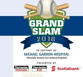 Grand Slam 2016 in Support of Michael Garron Hospital is Around the Corner